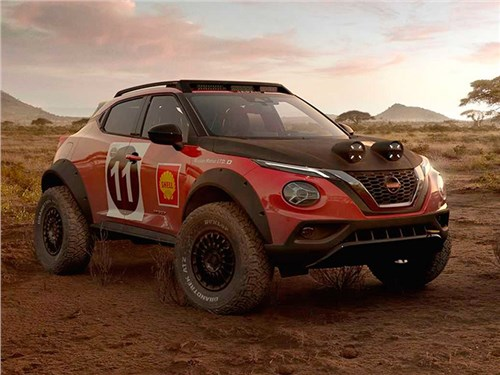 Nissan представил раллийный Juke