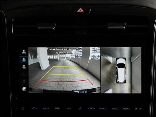 Hyundai Tucson (2021) монитор