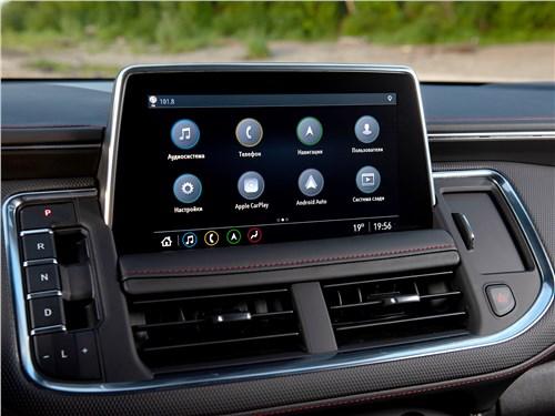 Chevrolet Tahoe (2021) монитор