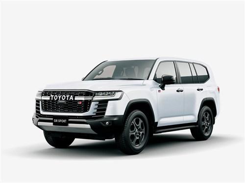 Новость про Toyota Land Cruiser - Toyota Land Cruiser GR Sport