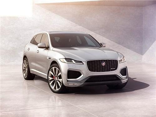 Jaguar произвел модернизацию кроссовера F-Pace