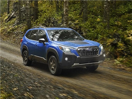 Subaru Wilderness случайно рассекретили