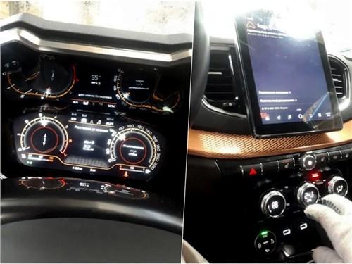 Новость про Lada Vesta - Интерьер новой Lada Vesta раскрыли на фото