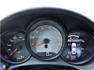 Porsche Cayman S 2013 приборная панель