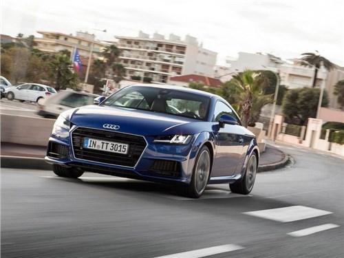 Новость про Audi TT - Audi построило дизельную версию купе TT с полным приводом