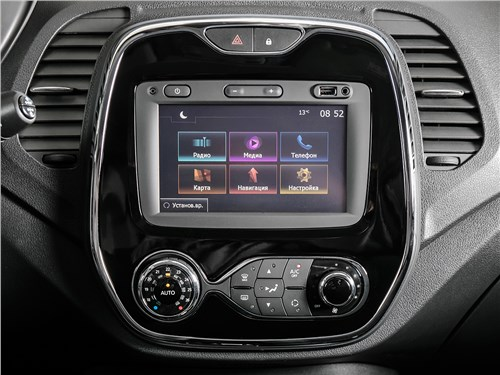 Renault Kaptur 2016 центральная консоль
