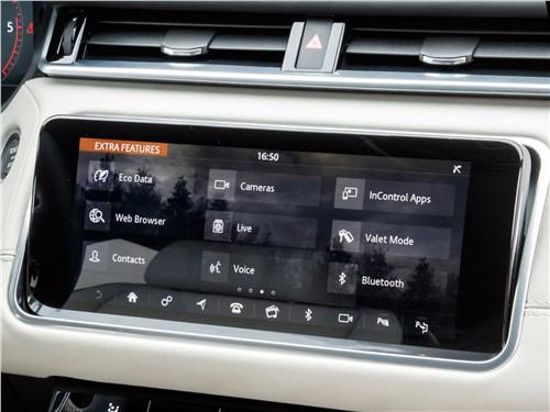 Land Rover Range Rover Velar 2018 монитор