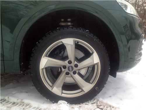 Audi SQ5 3.0 TFSI 2018 колесо