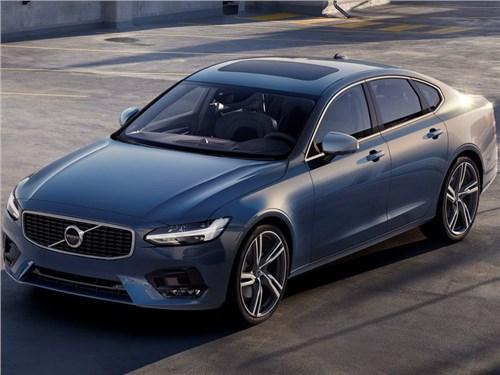 Новость про Volvo S90 - Volvo вывела на российский рынок новый S90 R-Design