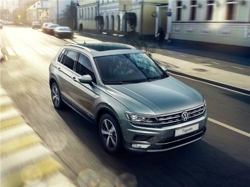 Volkswagen начал продажи нового Tiguan на российском рынке