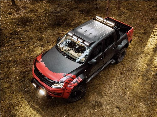 Delta4x4 | Volkswagen Amarok вид сверху