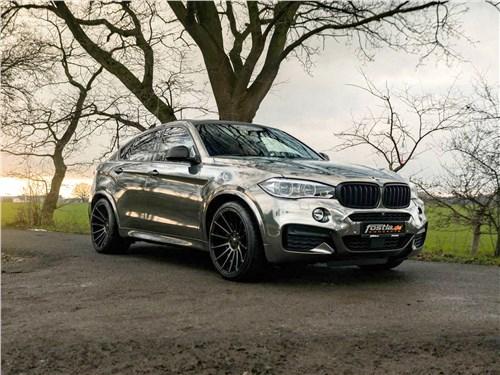 Fostla   BMW X6 M50d вид спереди