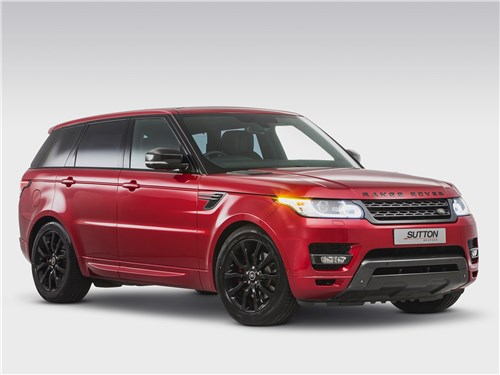 Clive Sutton   Range Rover Sport вид спереди