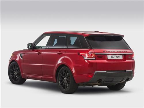 Clive Sutton   Range Rover Sport вид сзади
