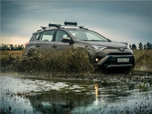 Toyota RAV4 обзавелась в России новой спецсерией