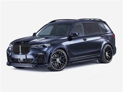 Lumma Design | BMW X7 вид спереди