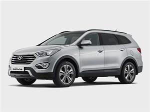 На российский рынок вышел большой кроссовер Hyundai Santa Fe
