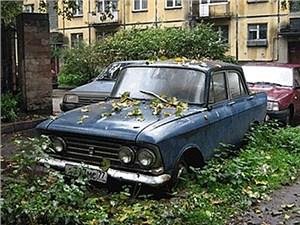 В Москве появится единый регламент о мерах борьбы с заброшенными машинами