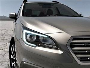 Subaru показал тизер кроссовера Outback 2015 модельного года