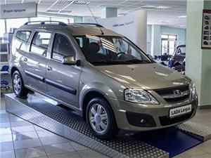 Продажи универсалов Lada Largus перевалили за сто тысяч