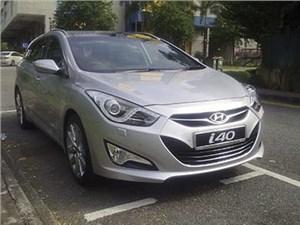 Hyundai пересмотрел списки оснащения седанов и универсалов i40 для российского рынка