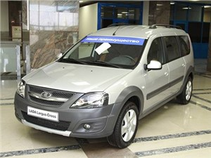 Внедорожный Lada Largus появится в продаже в ноябре
