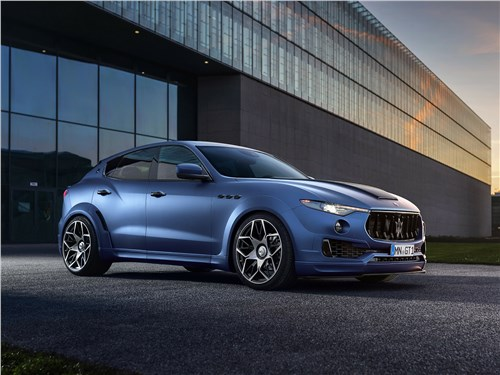 Novitec   Maserati Levante вид спереди