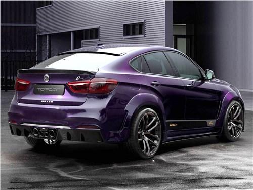 TopCar   BMW X6 М вид сзади