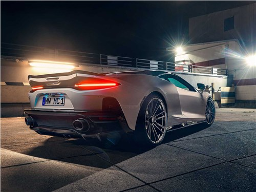 Novitec | McLaren GT вид сзади