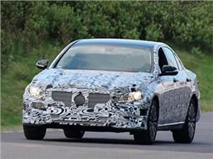 Mercedes-Benz проводит дорожные испытания нового поколения E-Class