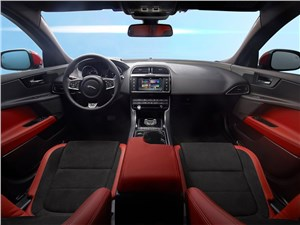 Предпросмотр jaguar xe 2015 салон