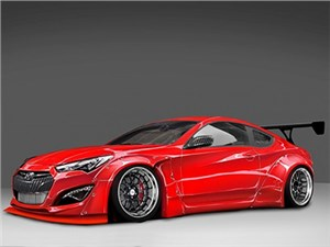 Новость про Hyundai Genesis Coupe - На тюнинг-шоу SEMA будет представлено сразу несколько переработанных Hyundai Genesis