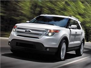 В России растет спрос на американский внедорожник Ford Explorer