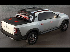 Предпросмотр renault duster oroch concept 2014 вид сверху сзади