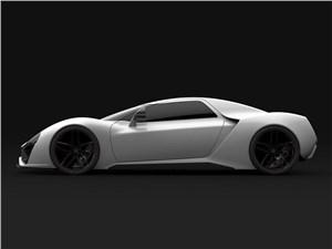 Предпросмотр trion supercars nemesis 2015 вид сбоку белый
