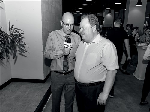 Кирилл Качнов («Авто 24») и Тимофей Кривошеин (Webasto)