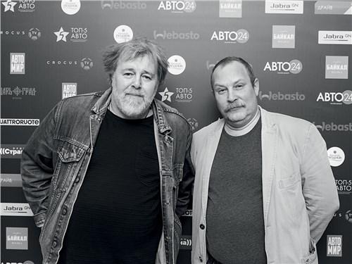 Петр Воронков («Своё радио») и Николай Ушанов (Classic & SportsCar)
