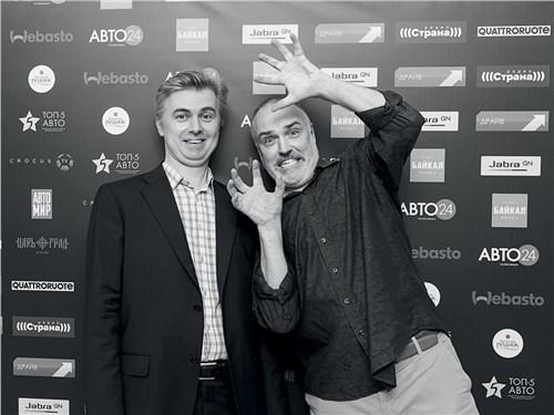 Сергей Мышлявцев («ТОП-5 АВТО») и Владимир Пирожков (ИЦ «Кинетика»)