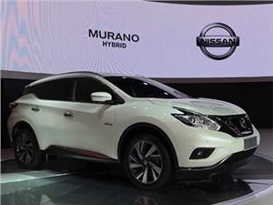 Nissan Murano обзавелся гибридной модификацией