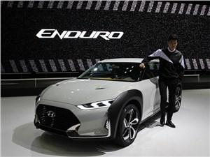 Предпросмотр hyundai enduro concept 2015 вид спереди сбоку
