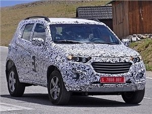 Внедорожник Chevrolet Niva нового поколения уже проходит дорожные испытания