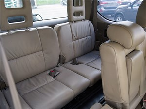 Toyota Land Cruiser Prado 2001 задний диван