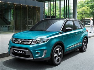 Новость про Suzuki Vitara - Suzuki Vitara 2015