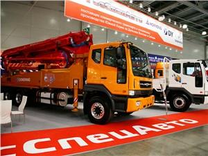 Компания «ГосСпецАвто» представила несколько грузовиков Daewoo