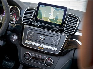 Предпросмотр mercedes-benz gle coupe 2016 центральная консоль