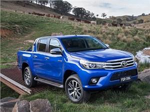 Пикап Toyota Hilux нового поколения вышел на российский рынок