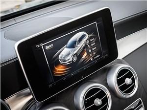 Mercedes-Benz GLC 2016 монитор компьютера