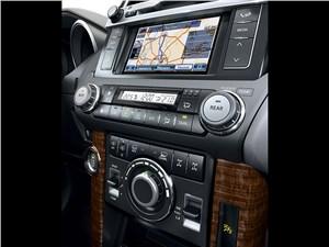 Toyota Land Cruiser Prado 2014 центральная консоль