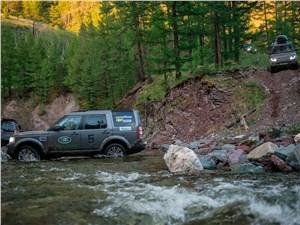 Land Rover Discovery 4 2015 вид сбоку