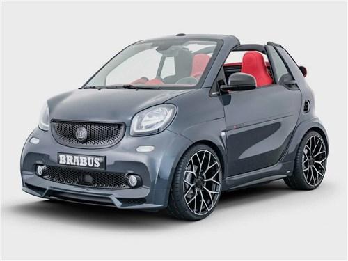 Brabus | Smart Fortwo Electric Drive Cabriolet вид спереди